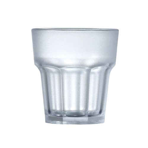 BBP Polycarbonate Frosted Glasses 9oz (Pack of 36)